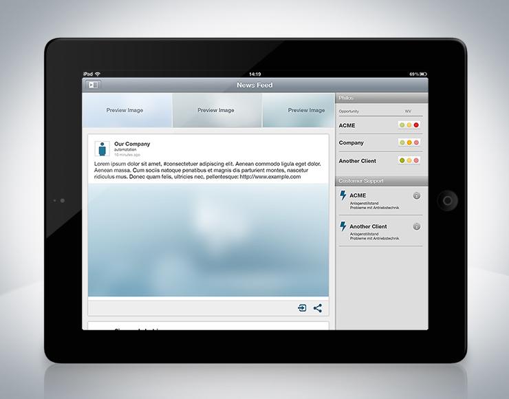 UI Design Interface Design iPad App